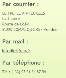 contact camping le trefle