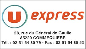 U Express Commequiers